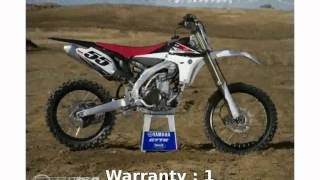 1. 2011 Yamaha YZ 450F -  Info Engine Transmission Details Specs Features Specification