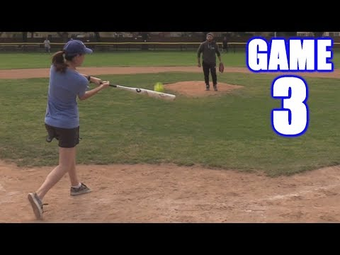 EMILY HOMERS AGAIN! | On-Season Softball Series | Game 3