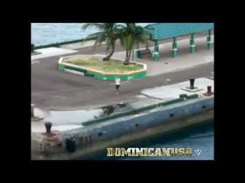 Nassau Pier Runner Misses Ship