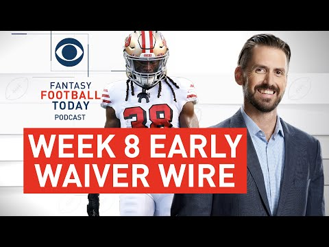 Week 8 Early Waiver Wire + OBJ Injury, 49ers RBs | 2020 Fantasy Football