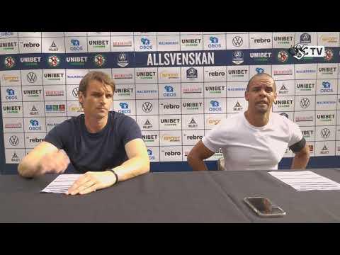 Presskonferens efter ÖSK - Hammarby