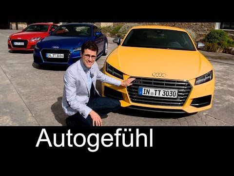 2015 all-new Audi TT & Audi TTS Coupé review test drive with Ascari racetrack – Autogefühl