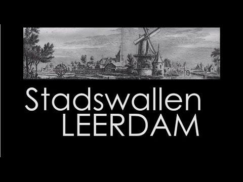 Stadswallen Leerdam Holland