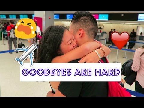 Bye Bye For Now | BF Goes Back To Japan | Noa Jasmine