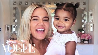 Khloé Kardashian's New Mom Beauty Routine | Beauty Secrets | Vogue