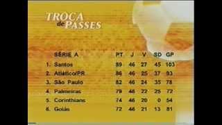 Classificação Brasileiro 2004 46ª Rodada