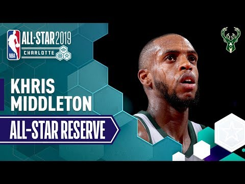Video: Best Of Khris Middleton 2019 All-Star Reserve   2018-19 NBA Season