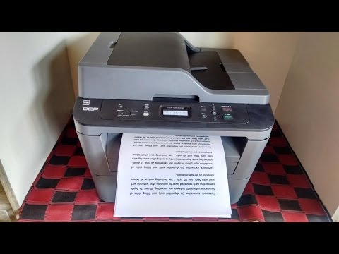 Unboxing & Print Testing of Brother DCP L2541DW All in One Printer