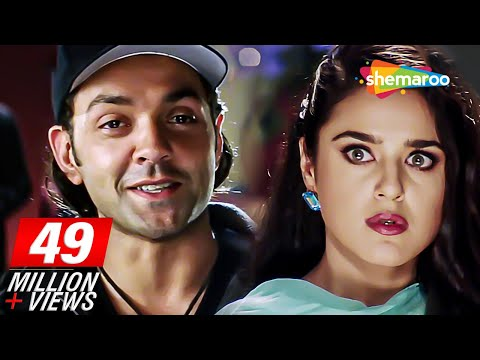 Bobby Deol Wins Valentine's Day Quiz Scene From Soilder - Preity Zinta - Bollywood Romantic Scene