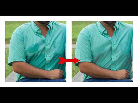 How to Remove Sweat Marks in Photoshop