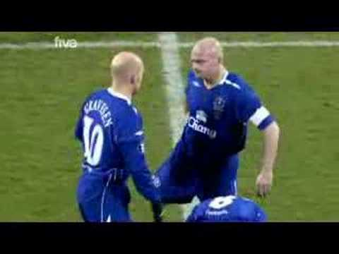 "Gravesen ""fight"" with Carsley"