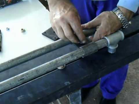Torno taladro,  Para hacer piezas de hasta un metro