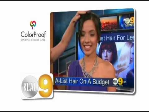 ColorProof Hair, KCAL9 2012