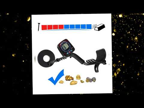 URCERI GC-1069 Metal Detector, High Accuracy Waterproof Treasure Hunting Tool, 2 Modes Outdoor Gold