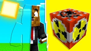 Minecraft - God Ghost Pranking FRIENDS With Rainbow Lucky Blocks | JeromeASF