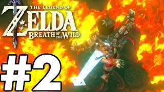 Divine Beast VAH RUDANIA! - The Legend Of Zelda: Breath Of The Wild - Gameplay Part 2 BOSS FIGHT