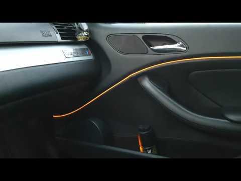 E46 coupe titansilver Led project 318CI