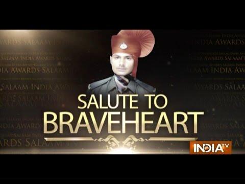 """India TV Special: """"Salaam India Awards 2014""""- Nathu Singh Uttam Adhikari 25 October 2014 11 PM"""