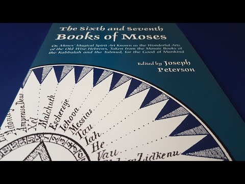 The Sixth and Seventh Books of Moses by Joseph Peterson - Esoteric Book Review