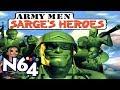 Army Men : Sarge s Heroes Nintendo 64 Review Hd