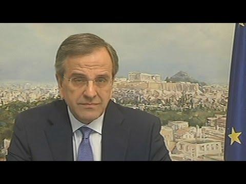 Αντ. Σαμαράς: Να σταθούμε ενωμένοι δίπλα στο ΝΑΙ