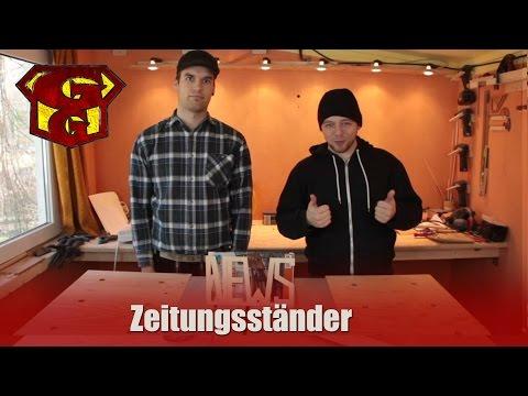 Zeitungsständer -  Garagengurus #5