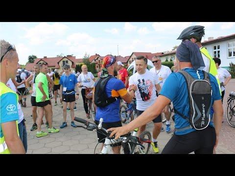Wideo1: Finał biegu 220km z Częstochowy do Piasków dla BOIK-owskich Dzieci