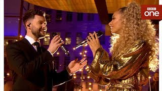 Calum Scott and Leona Lewis perform 'You Are The Reason' - The One Show - BBC One