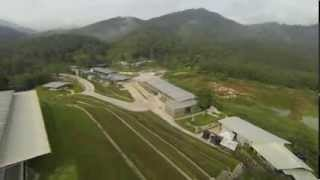 Bentong Malaysia  city images : Kechara Forest Retreat (KFR) - Aerial - Bentong Pa