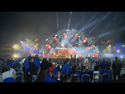 العرب اليوم - شاهد: مهرجان للنجوم الآسيوية في ألماتي
