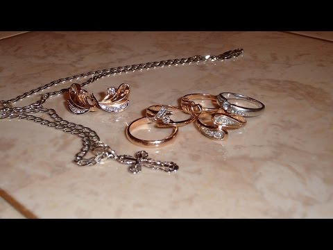 Как почистить золото в домашних условиях цепочку