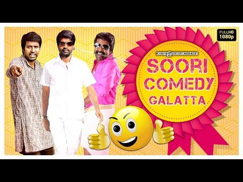 Best Soori - Comedys | Hits Of Soori | Blockbuster, Popular Hits | Soori Comedy Galatta