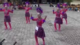 BHAYANGKARI POLRES BANGKA SELATAN SENAM MAUMERE