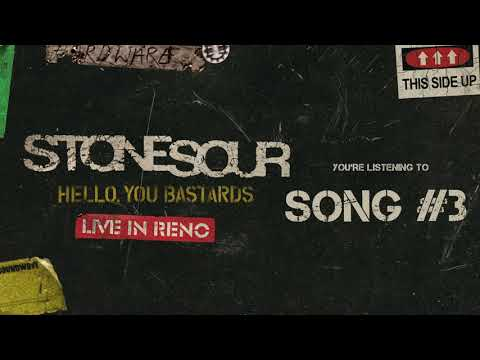 Stone Sour - Song #3 LIVE (Audio)