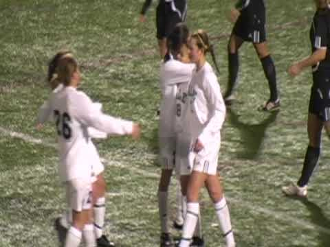 Video Highlights Nov. 8, 2009: Yale Women's Soccer vs Brown