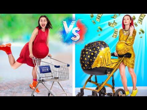 Rich Pregnant vs Broke Pregnant