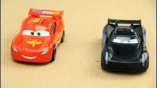 Cars 3 Lightning McQueen vs Jackson Storm Video for kids