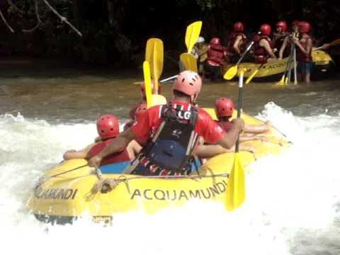 Rafting na cachoeira da fumaça em Jaciara 2010