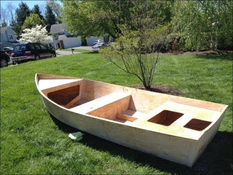 делаем лодку своими руками из фанеры