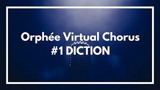 Orphée et Eurydice Virtual Chorus #1 DICTION