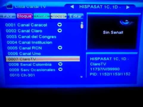 captar satelite hispasat 22 septiembre 2013