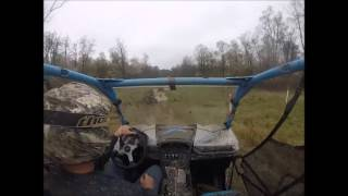 8. 2016 CAN AM MAVERICK X XC 1000R MUDDING AND FIRST RIDE 2016 CAN AM OUTLANDER XT 850 PART ONE