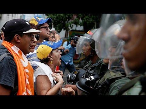 Βενεζουέλα: Σοβαρά επεισόδια στους δρόμους του Καράκας