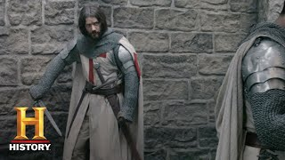 """Nonton Knightfall Episode Recap: """"And Certainly Not the Cripple """" (Episode 7) 