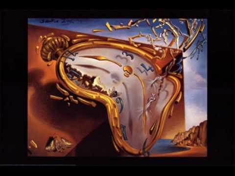 wearing - Artist: Pink Floyd Song: Wearing the Inside Out Album: The Division Bell Paintings by Salvador Dali.