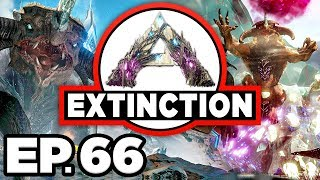 ARK: Extinction Ep.66 - ICE TITAN SOLO TAME ATTEMPT!!! (Modded Dinosaurs Gameplay)
