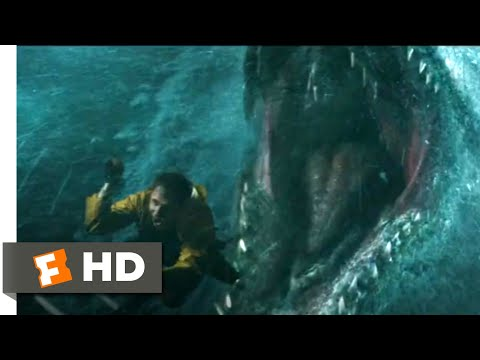 Jurassic World: Fallen Kingdom (2018) - Mosasaurus Attack Scene (1/10) | Jurassic Park Fansite