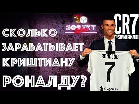 Сколько зарабатывает Криштиану Роналду  | Эффект Бабла 23 - DomaVideo.Ru