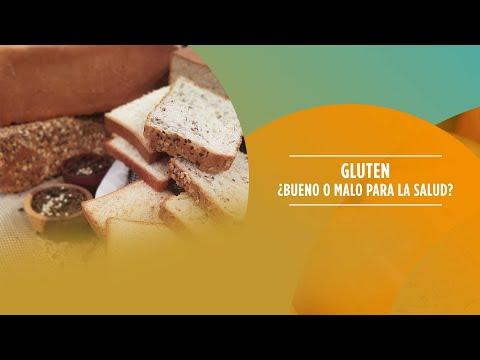 Gluten, ¿bueno o malo para la salud?