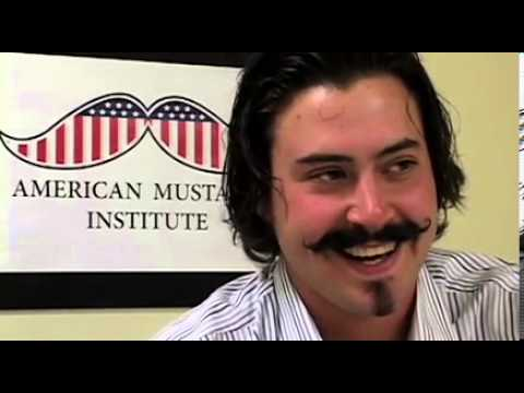 Clay Zavada - After winning the American Mustache Institute's coveted Robert Goulet Memorial Mustached American of the Year, Aaron Perlut sat down with him for a no holds ...